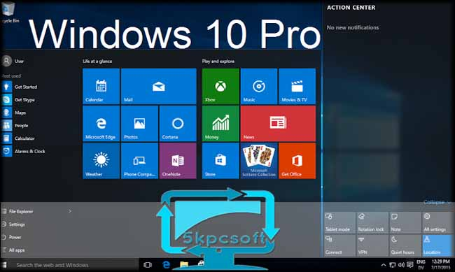 Microsoft Windows 10 Pro And Home Free Download Clean Iso