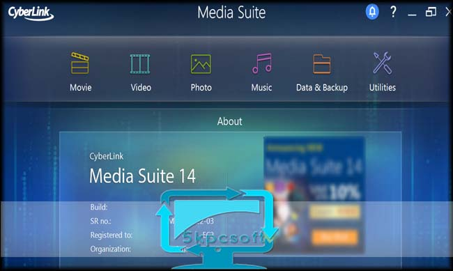Cyberlink media suite 15 ultra free download for mac.