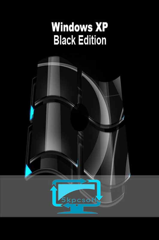 Windows XP Black Edition Free Download x86 [Service Pack 3]