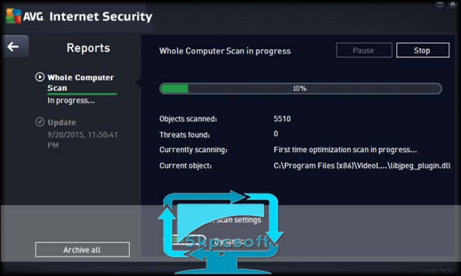 AVG Internet Security 2016 full downlaod complete setup for windows 5kpcsoft