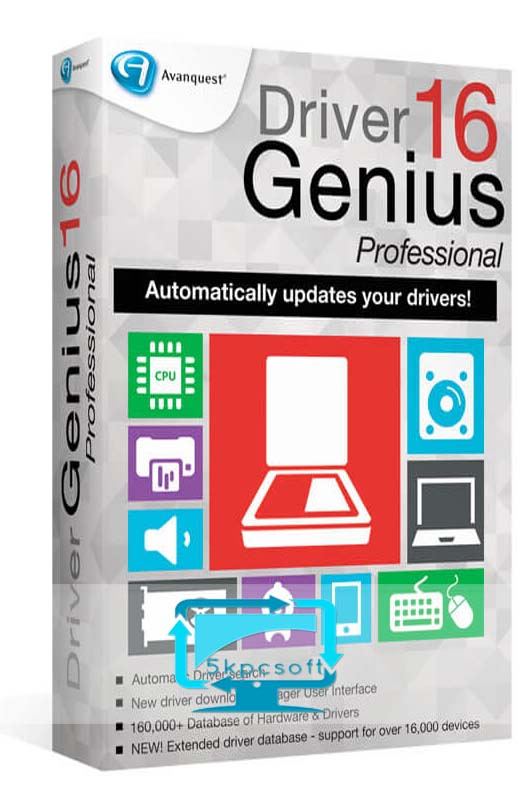 Driver Genius Pro 17 Crack & License Code Free Download