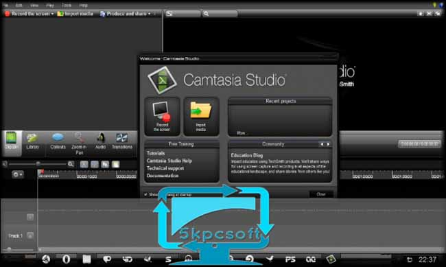 TechSmith Camtasia Studio 9 free full iso download