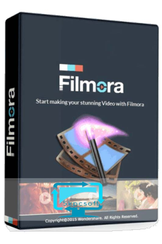Wondershare Filmora 8 free downlaod for pc latest version 5kpcsoft