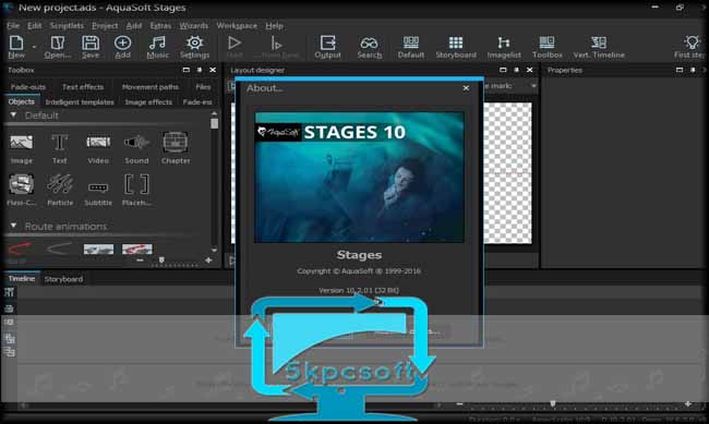 AquaSoft Stages 10.4.08 [Full Version] Free Download complete setup for windows 5kpcsoft