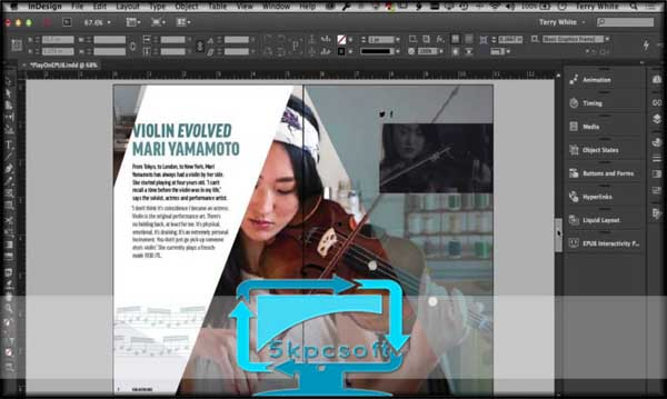 Adobe InDesign CC 2017 Free ISO Download for pc latest version full installer 5kpcsoft