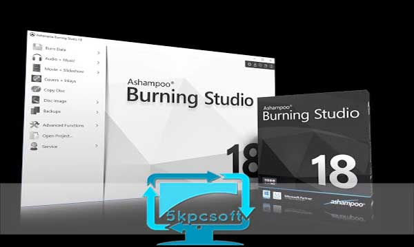 Ashampoo Burning Studio 18 free full iso download 5kpcsoft