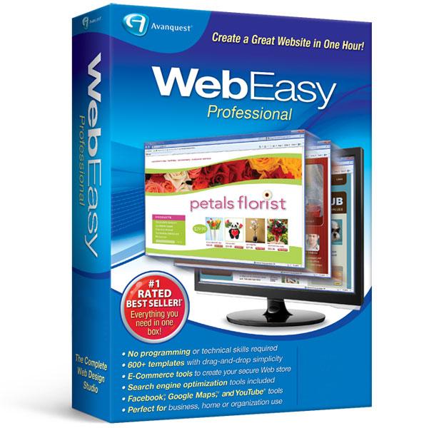 Avanquest WebEasy Professional 10 free 5kpcsoft