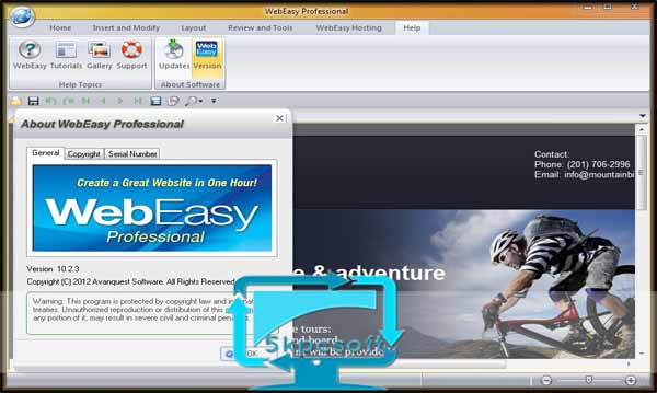 Avanquest WebEasy Professional 10.2.3.4 Free Download for pc latest version 5kpcsoft